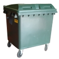 4 Wheeled Plastic Waste Containers