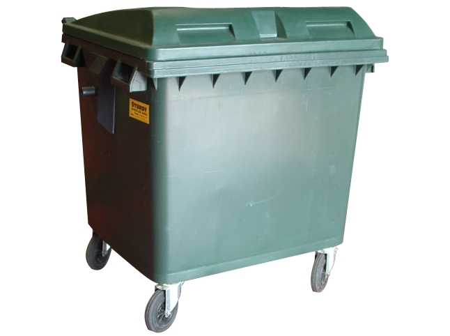 1100Ltr Plastic Waste Container