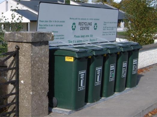 Sturdy Recycling Station - 240Ltr