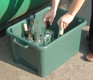 Sturdy Kerbside Recycling Box 38Ltr