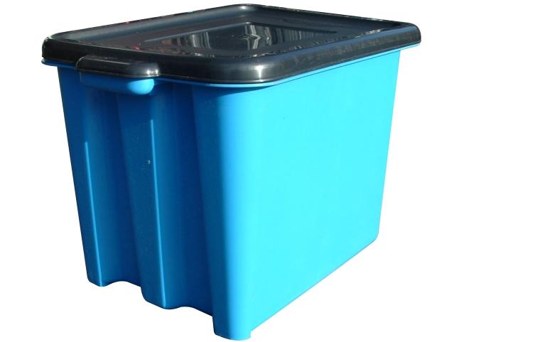 Sturdy Kerbside Recycling Box 55Ltr