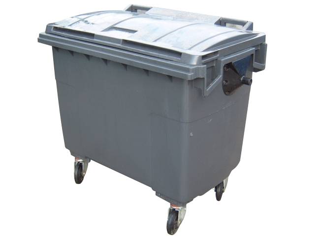 660Ltr Plastic Waste Container