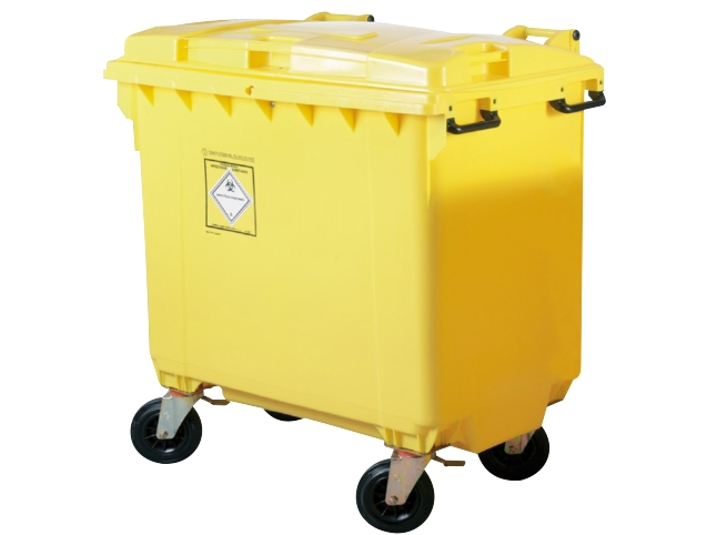 Clinical Waste Container - 770Ltr
