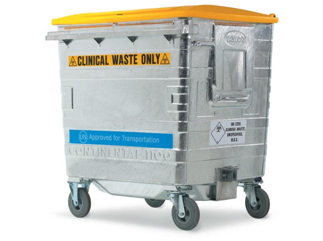 Clinical Waste Container 820Ltr – UN Approved