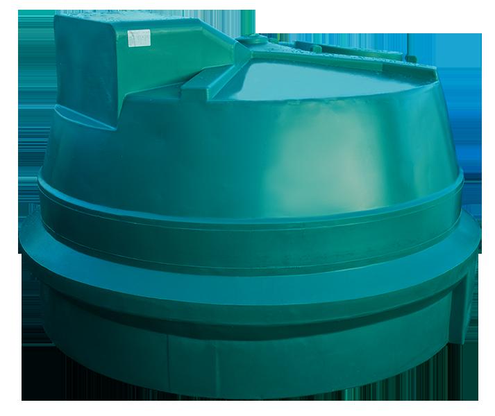 Sturdy 2,100Ltr Oil Tank