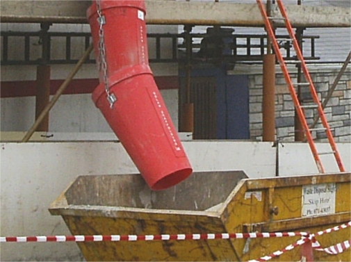 Sturdy Builder Waste Chute
