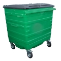 4 Wheeled Steel Waste Containers