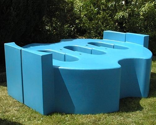 Sturdy Storage Tank Support Plinth (Cyclindrical)