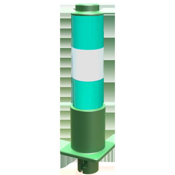 Median Delineator Pole