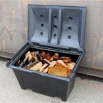 Sturdy 225Kg Log Storage Box