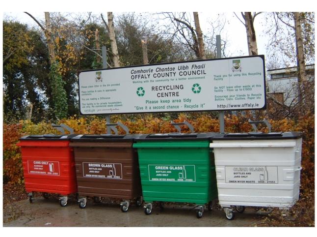Sturdy Recycling Station - 1100Ltr
