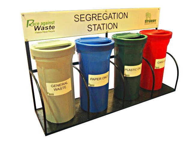 Sturdy Waste Segregation Station