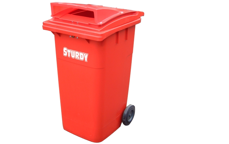 Wheeled Confidential Waste Container