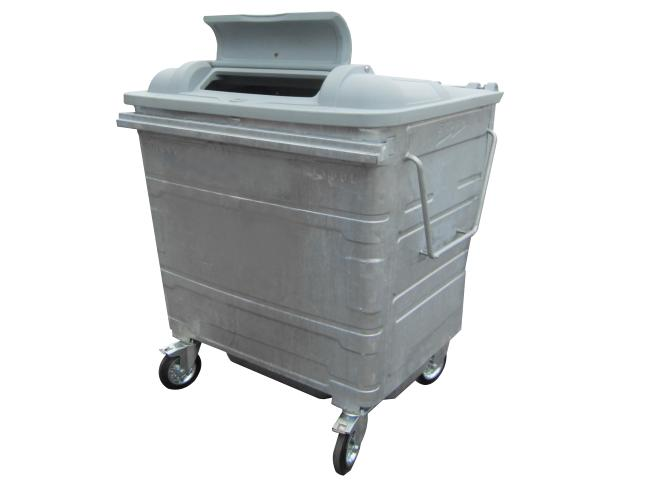 Storm 1100Ltr Galvanised Recycling Container