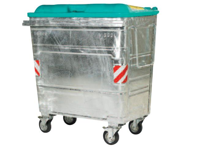 Storm 660Ltr Galvanised Waste Container