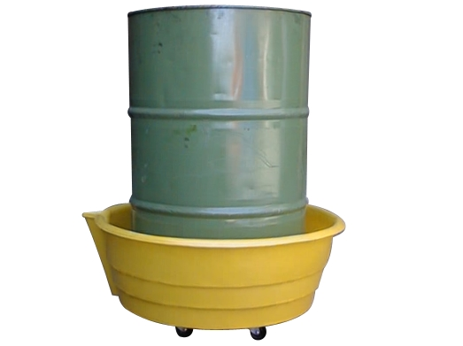Sturdy Drums Up Spill Trolley