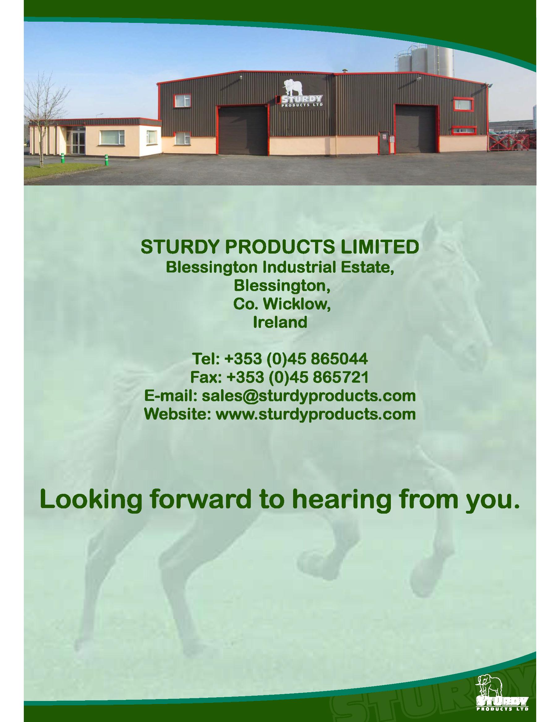 Farm & Equestrian Brochure