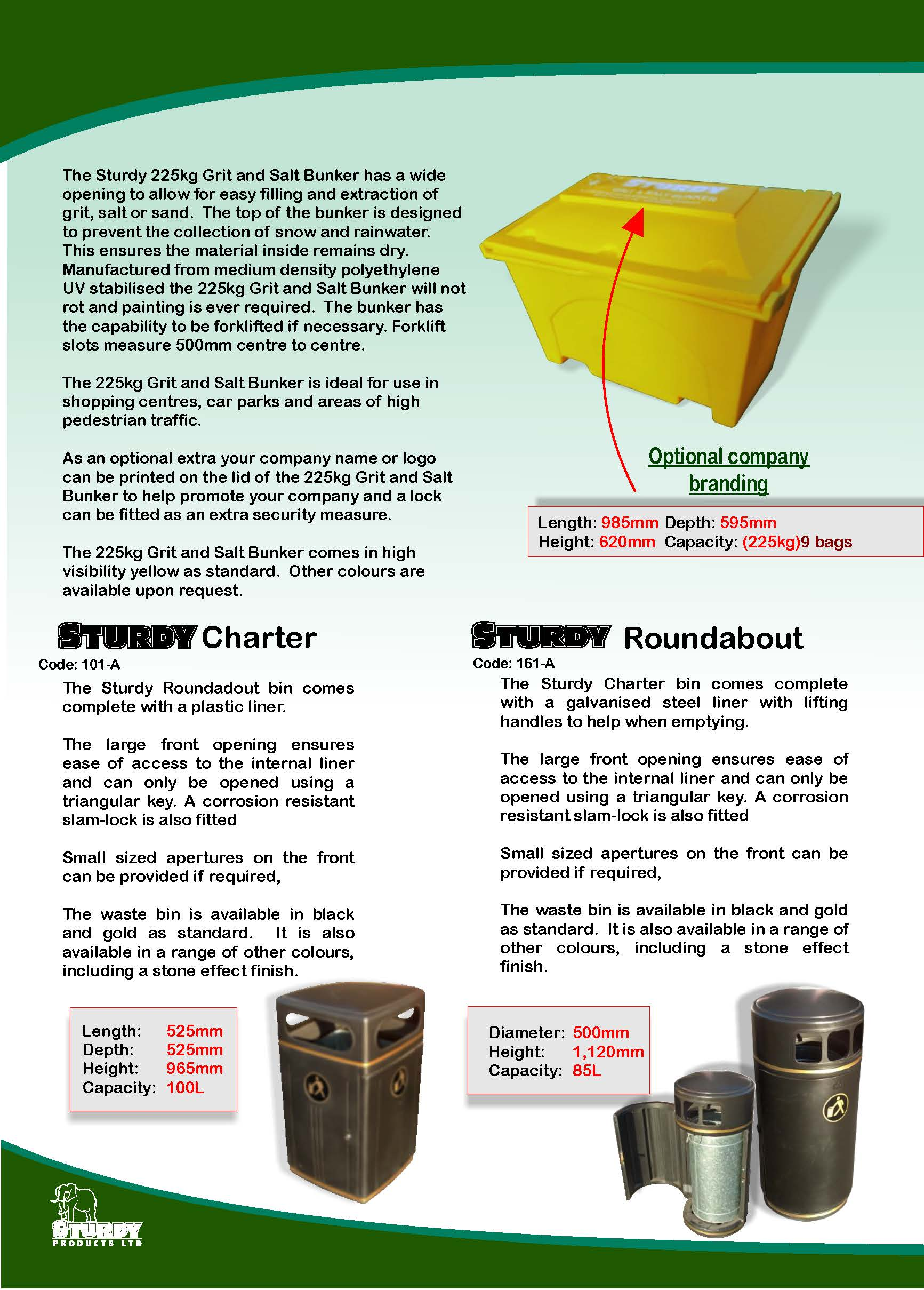 Storage & Merchandising Brochure