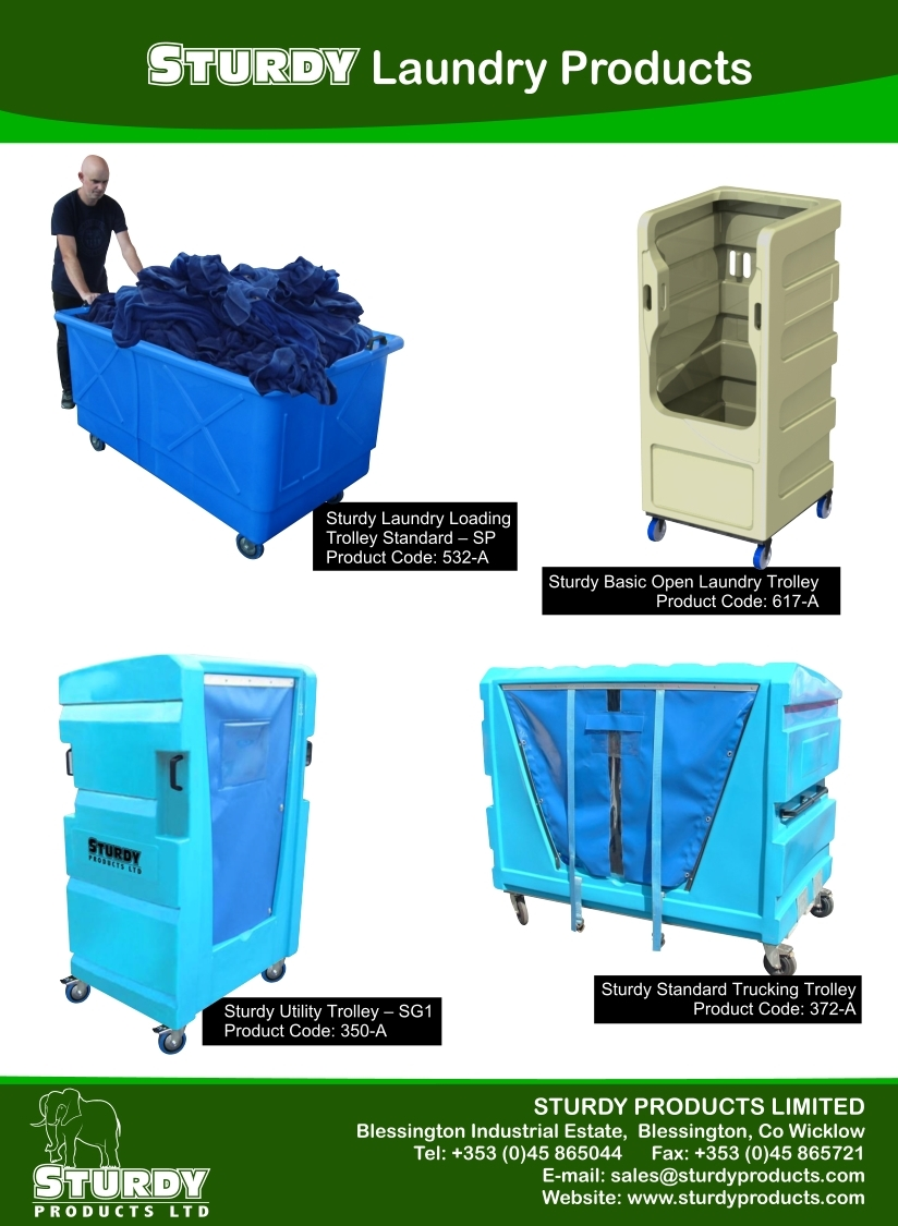 Recommendation for maintaining hygiene in a laundry By Sturdy Products
